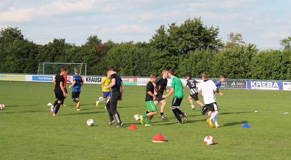 U19-Trainingsauftakt in Bavenstedt