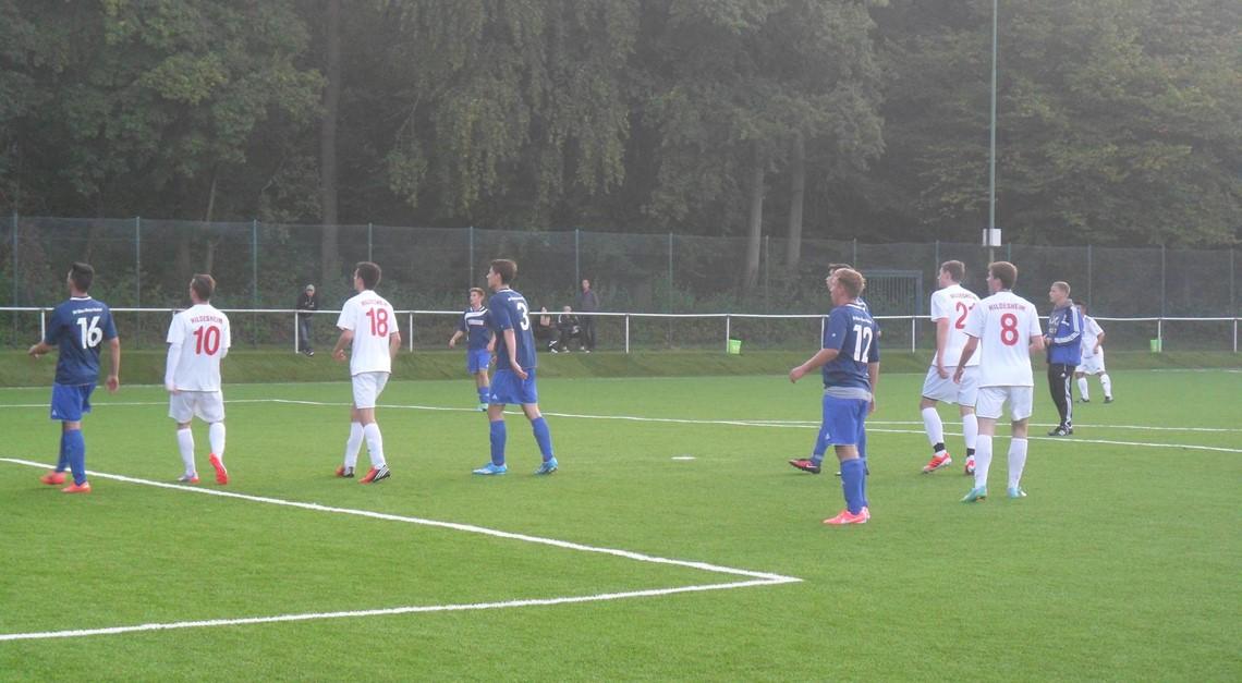 U19 1:1 im Testspiel gegen Blau-Weiß Neuhof