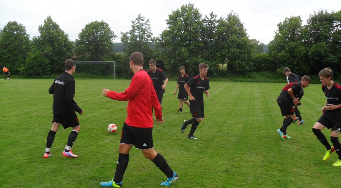 U19 bestreitet Testspiel beim TSV Limmer