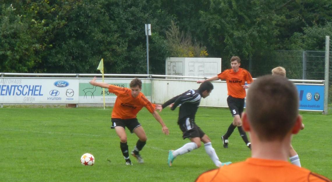 U19 bestreitet Testspiel gegen den VfB Peine