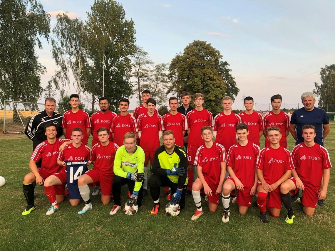 Mannschaftsfoto 1. JFC AEB Hildesheim