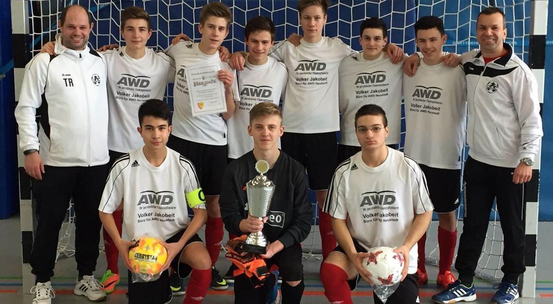 B2 wird Futsal-Kreismeister