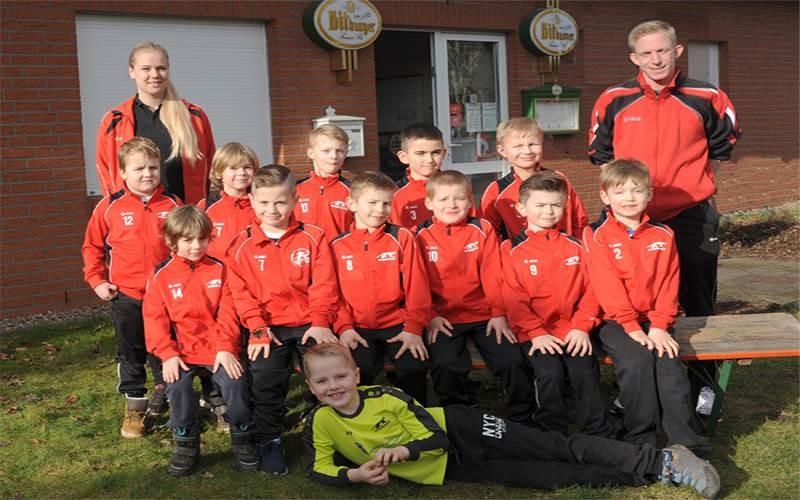 G-Junioren gewinnen gegen SV Dedensen