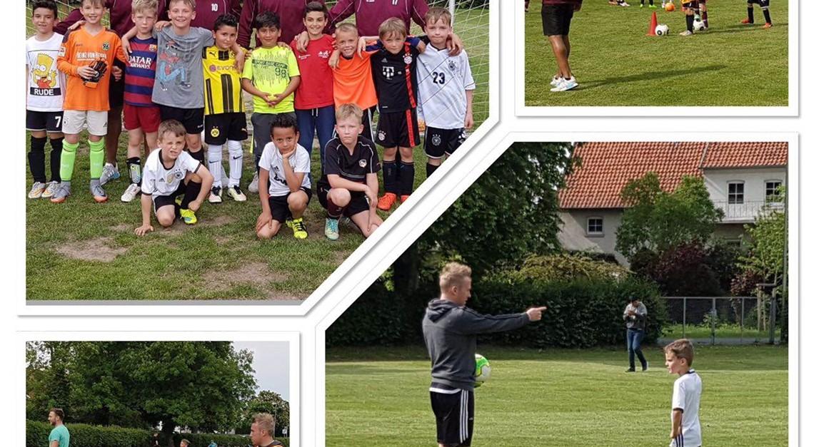 Oberligaspieler trainieren FC Nachwuchs