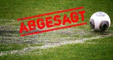 Spiel gegen SVG Göttingen abgesagt!
