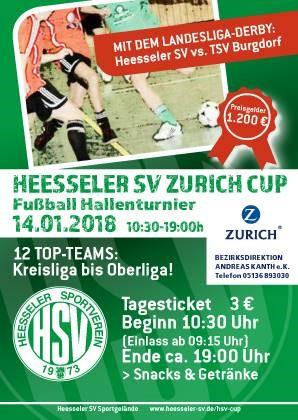Sonntag Zurich-Cup in Heeßel!