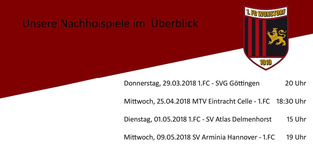 Spiel in Celle abgesagt - Nachholspiele terminiert