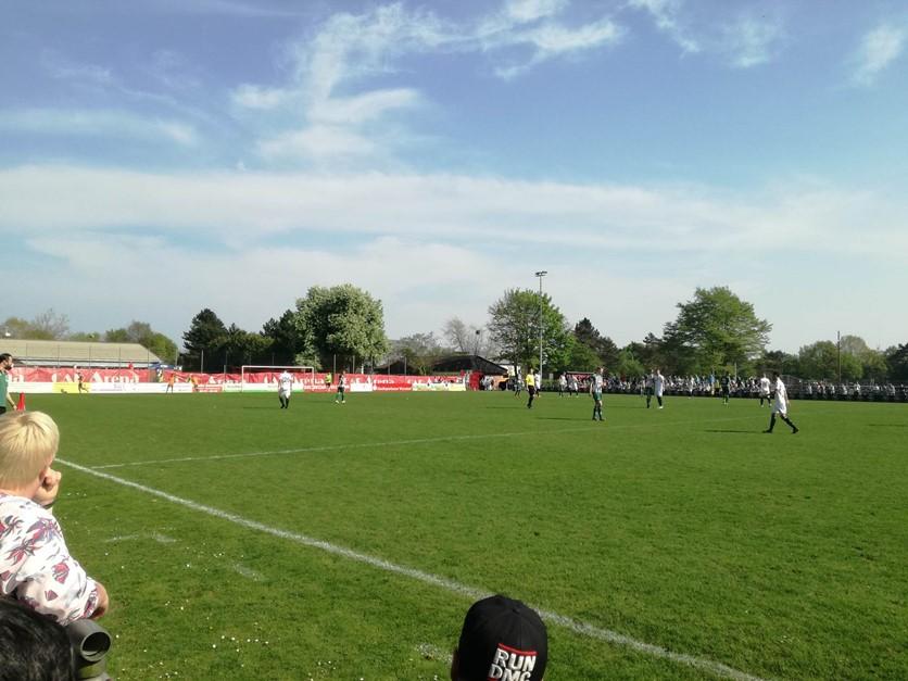 1:0 Sieg im Spitzenspiel gegen Oldenburg!
