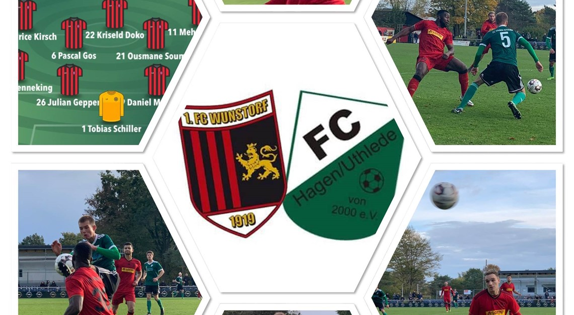 1.FC WUNSTORF - FC HAGEN/UTHLEDE 1:0