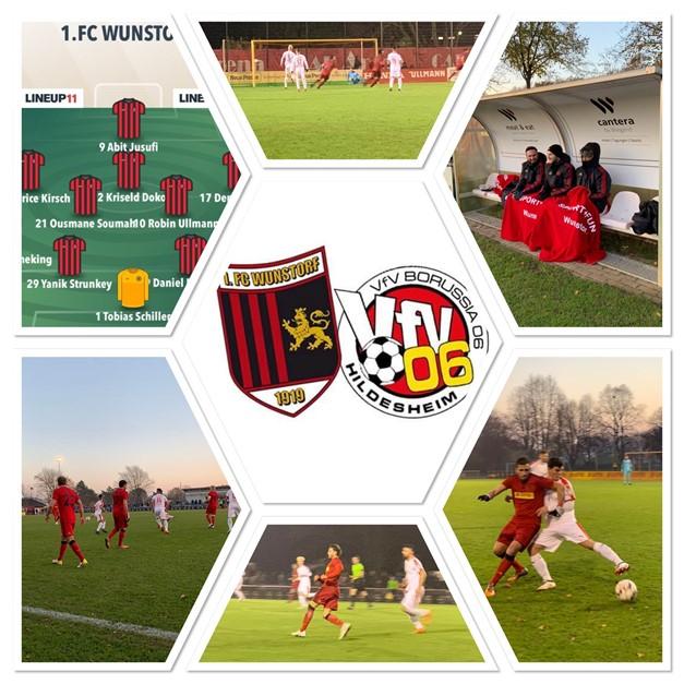 1.FC erkämpft sich Punkt gegen Hildesheim