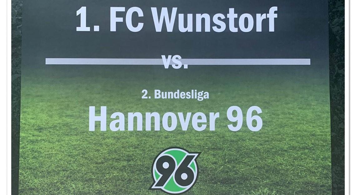 1.FC WUNSTORF - HANNOVER 96