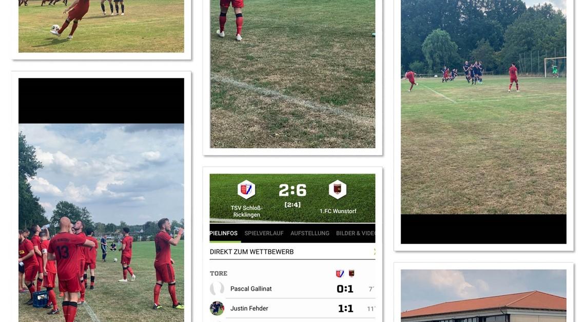 TSV SCHLOSS RICKLINGEN - 1.FC WUNSTORF 2:6