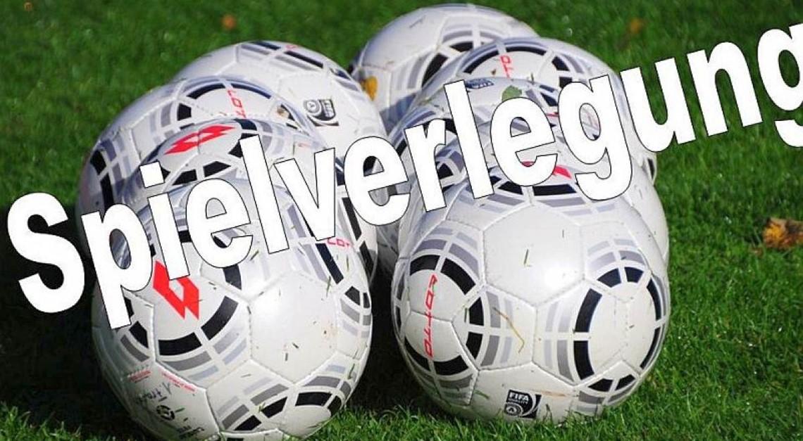 Spielverlegung 1.FC Wunstorf - FC Eldagsen