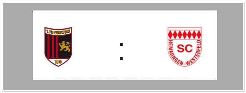 1.FC WUNSTORF - SC HEMMINGEN-WESTERFELD