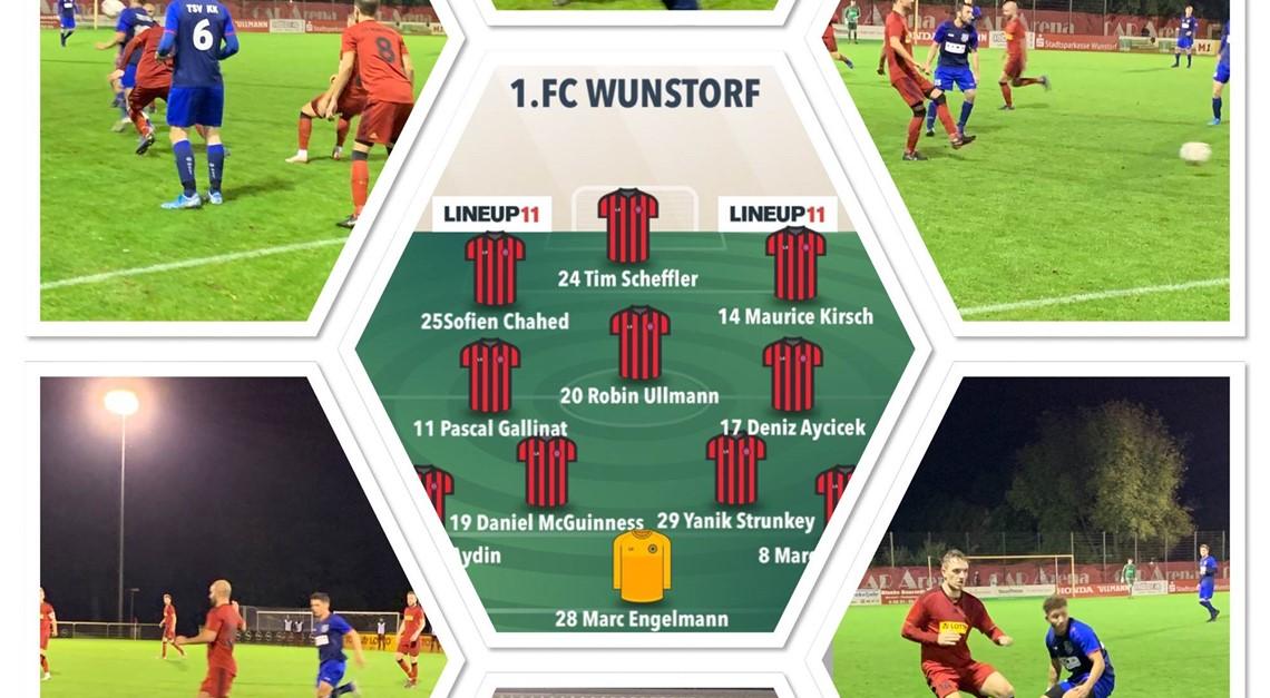 1.FC WUNSTORF - TSV KRÄHENWINKEL/KALTENWEIDE 1:1