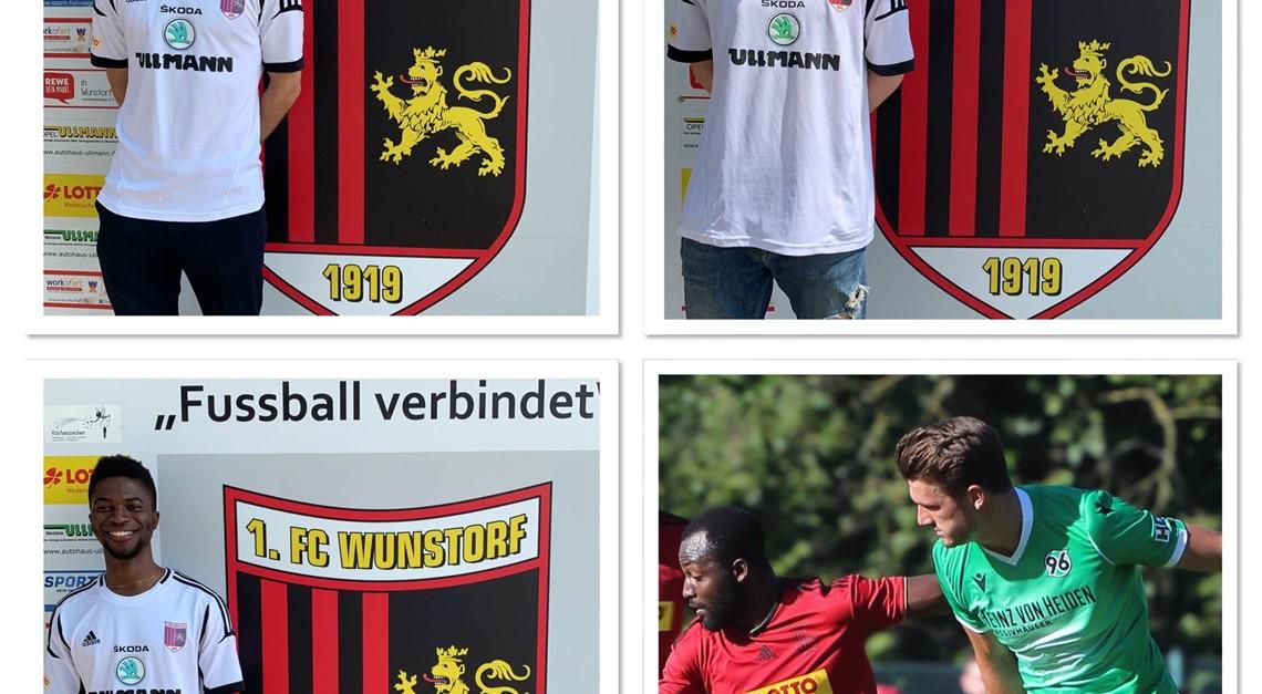Vier Spieler bleiben dem 1.FC treu!