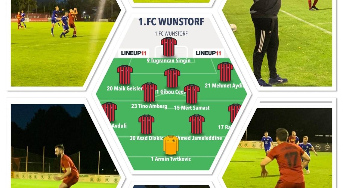 1.FC Wunstorf - 1.FC Sarstedt 2:2 (2:0)
