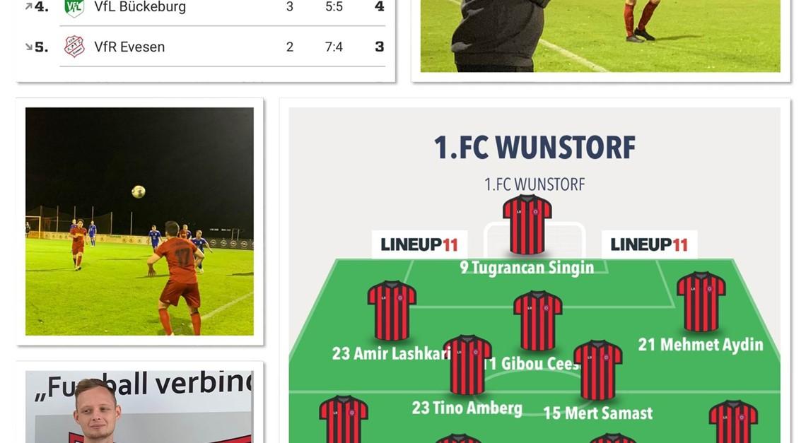 1.FC WUNSTORF - FC ELDAGSEN 1:0