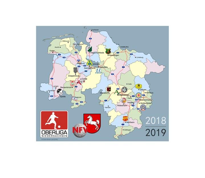 Oberliga-Landkarte