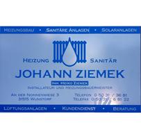 Sponsor - Heizung & Sanitär Johann Ziemek