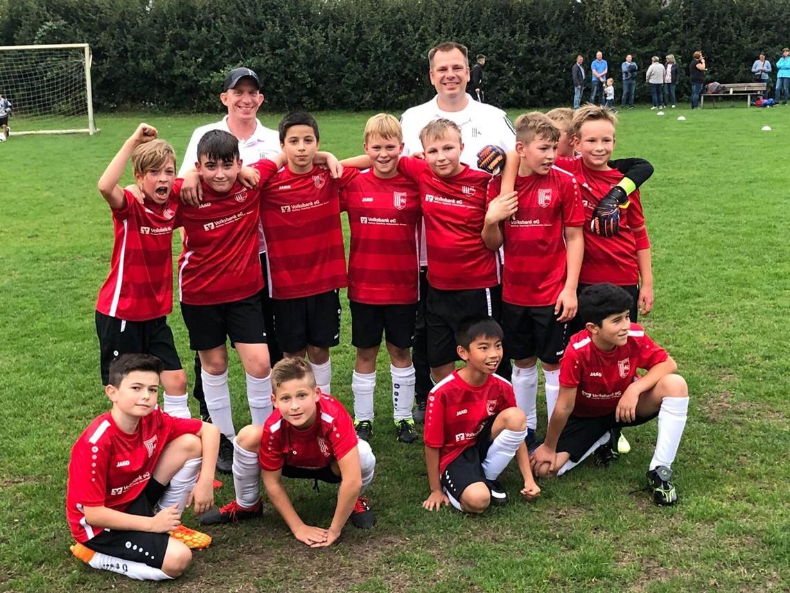 Mannschaftsfoto 1. FC Wunstorf 2