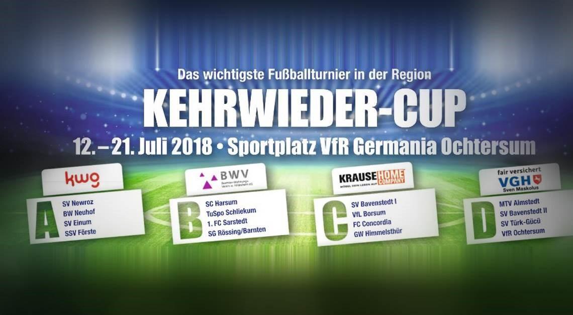 Kehrwieder-Cup 2018 startet