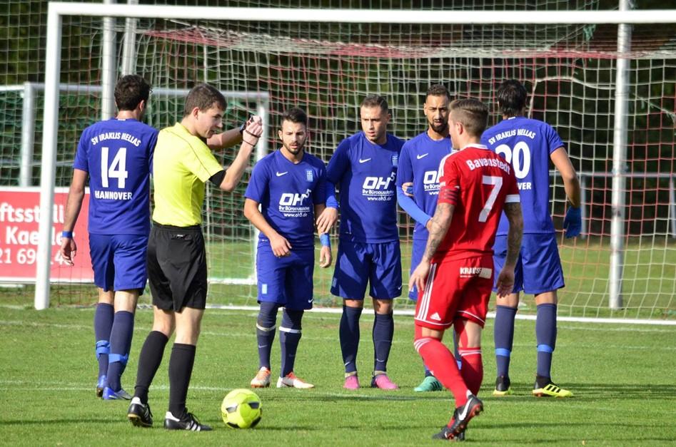 1:0 gegen SV Iraklis Hellas