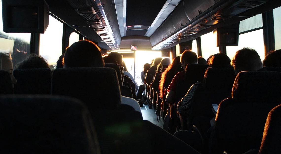 Mit dem Bus zum Topspiel