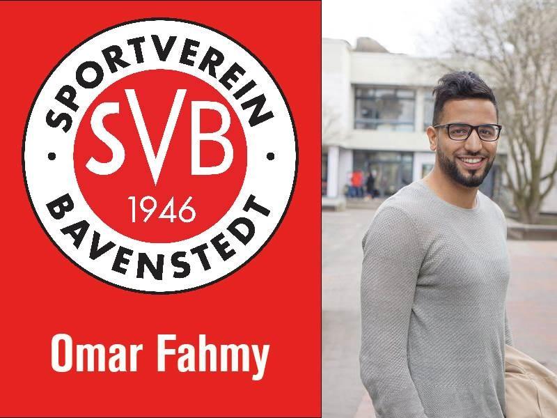 Omar Fahmy ist neuer Cheftrainer des SVB
