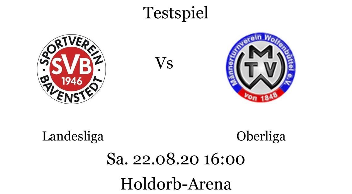 Info zum Testspiel der 1.Herren gegen Wolfenbüttel