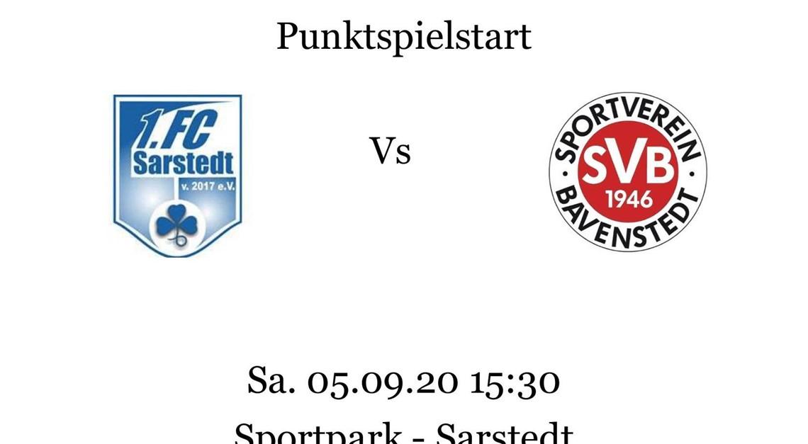 Punktspielauftakt gegen Sarstedt am 5.09.20