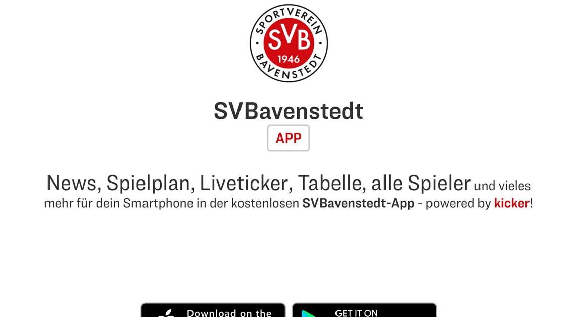 Die SV Bavenstedt App