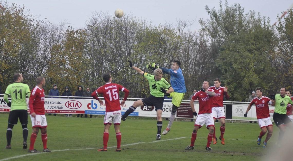 0:0 gegen Bückeburg