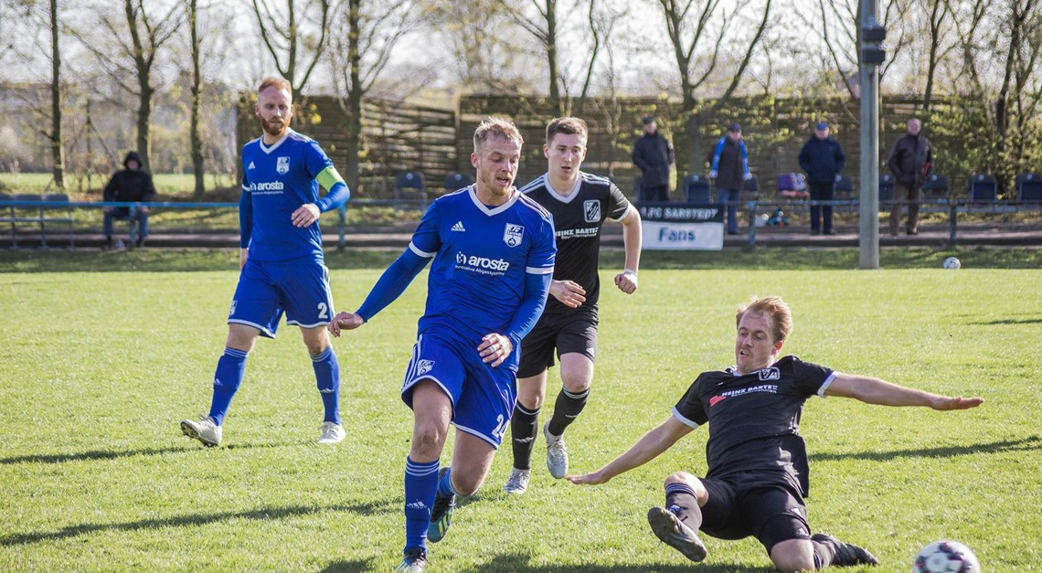 Musema erlöst den 1. FC Sarstedt