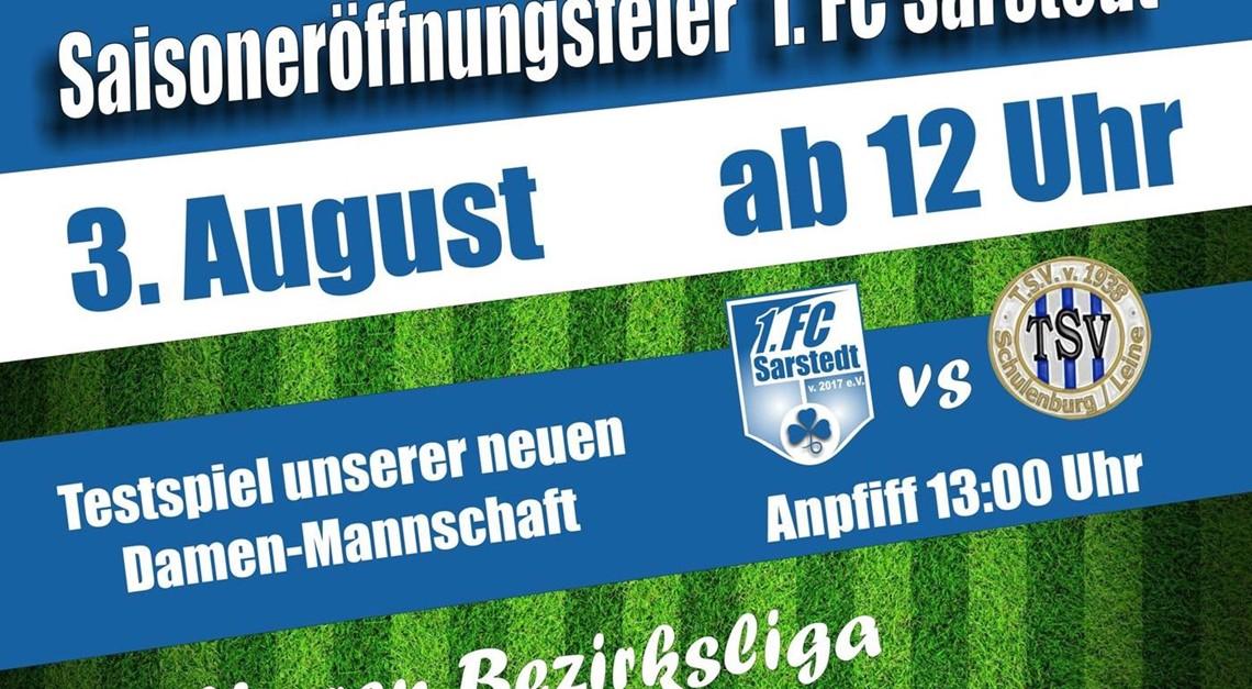 Saisoneröffnung des 1. FC Sarstedt
