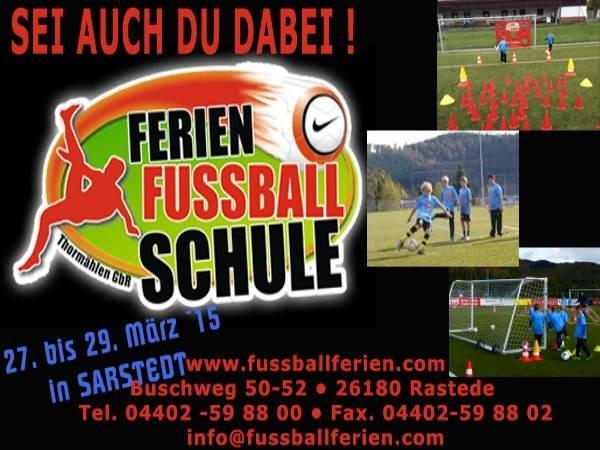 Fussballferienschule 2015