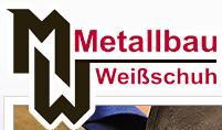 Sponsor - Metallbau Weißschuh GmbH