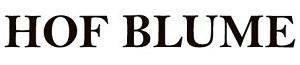 Sponsor - Hof Blume