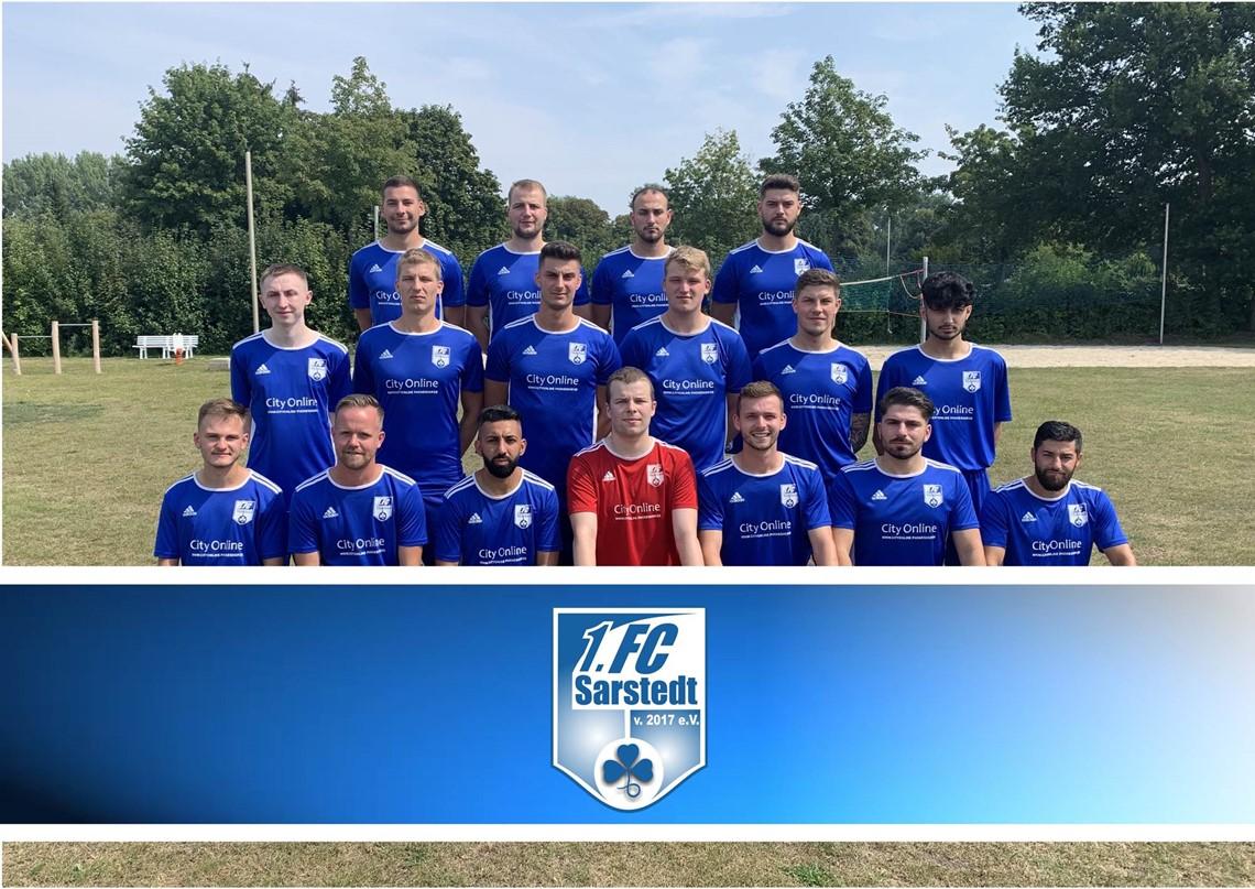 Mannschaftsfoto 1. FC Sarstedt 2