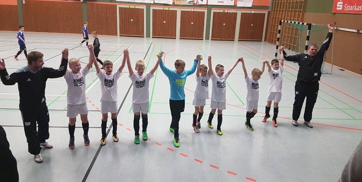 U11 der JSG Oedelum/Nettlingen wird Staffelmeister