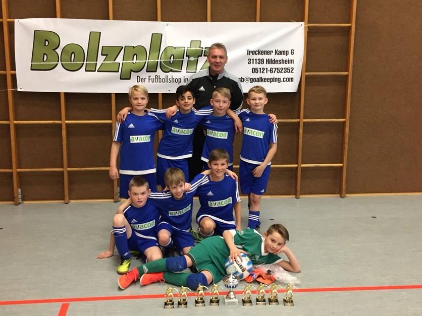 Kreisauswahl Hildesheim gewinnt U11 Bolzplatz-Cup