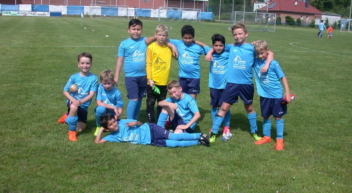 U9-Junioren beenden Punktspielsaison