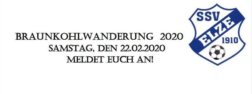 Braunkohlwanderung 2020 des SSV