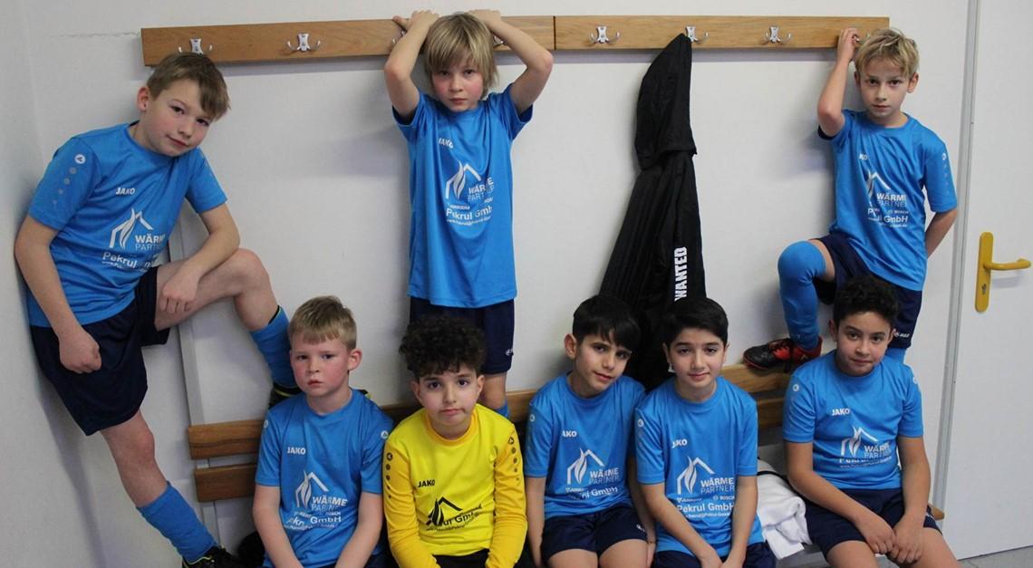 U10-Junioren beim Turnier der JSG Warberg