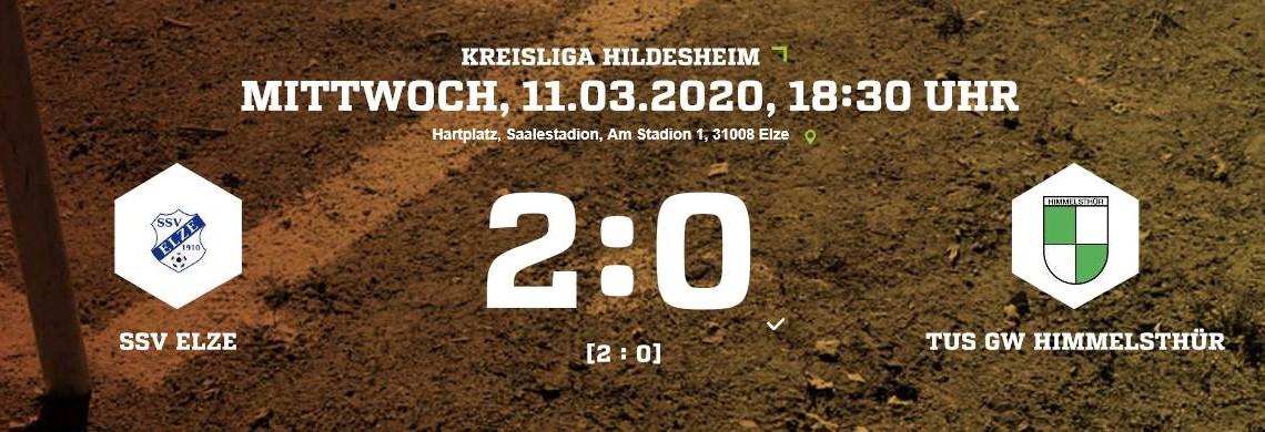 Auftakt geglückt! 2:0 Heimsieg unserer Ersten!