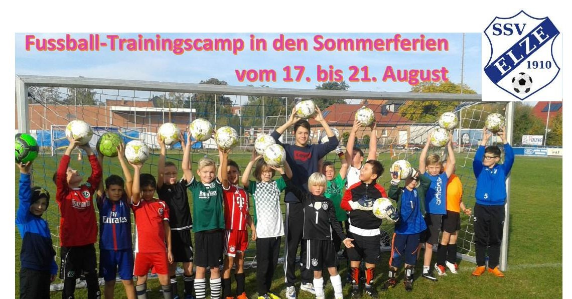 Fussball-Trainingscamp in den Sommerferien