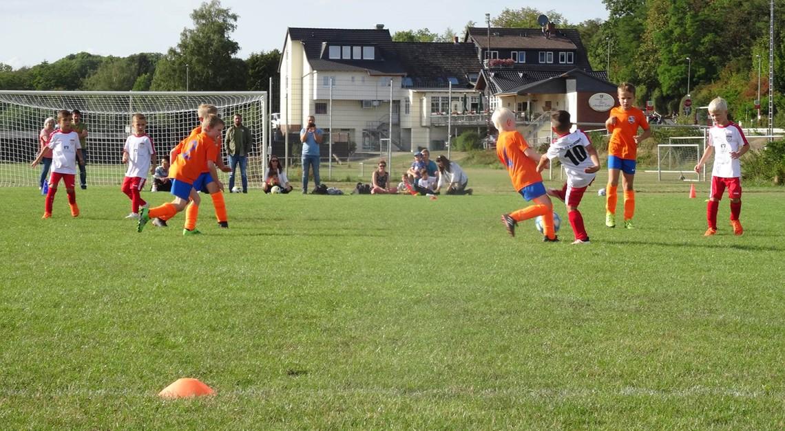 F-Jugend/U8 - Hinrunde beendet