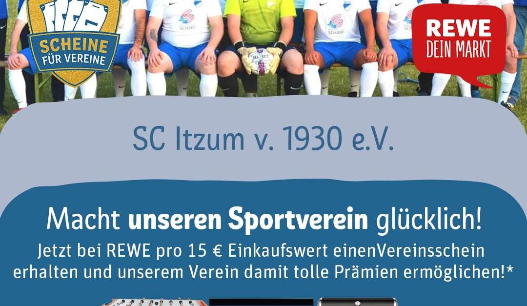Unterstützt unseren Verein!!! REWE Gewinnspiel