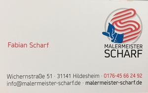 Sponsor - Malermeister Fabian Scharf