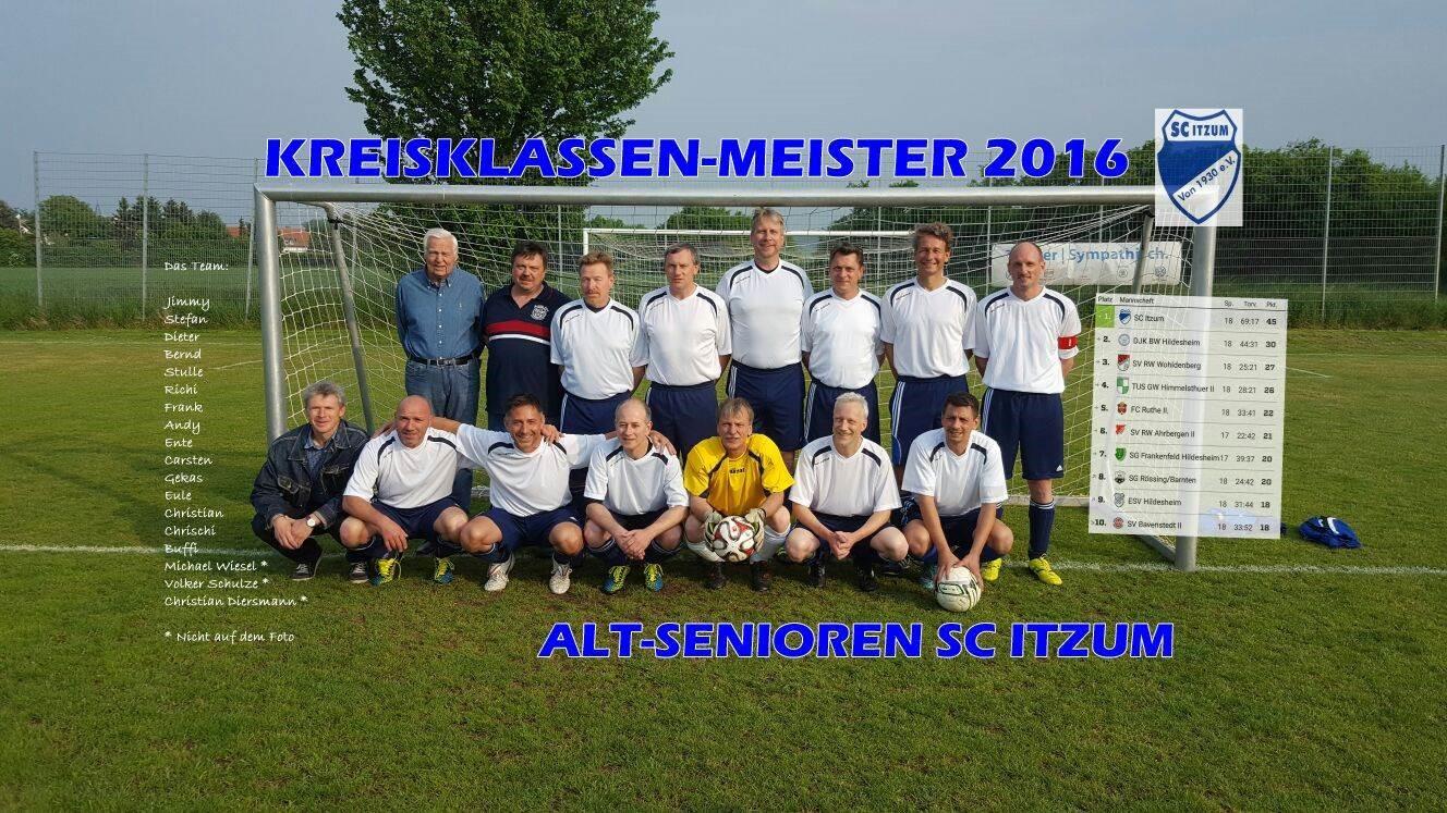 Mannschaftsfoto SC Itzum